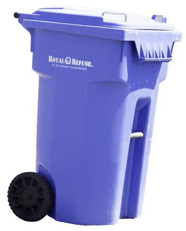 65 Gallon Recycling Container