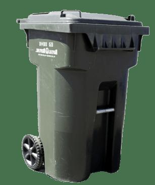 65 gallon yard debris bin