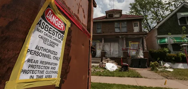 A removal container is the safest way to remove asbestos from your home or office during renovations