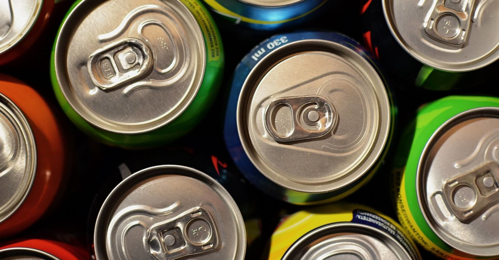 Recycling tin, steel and aluminum cans.